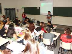 A Semana de Educção contou com a apresentação de inúmeros trabalhos